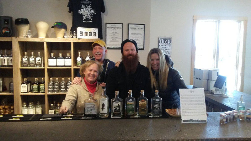 Stopping by Appalachian Gap Distillery