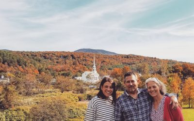 Fall in Stowe Vermont